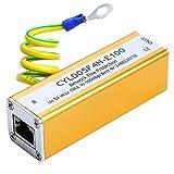 UHPPOTE Network RJ45 Adapter Ethernet LAN Surge Protector Lightning Protection Arrester