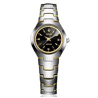 Sheli Marken Uhren Damen Gold Und Schwarz Uhr Armbanduhr Wolfram