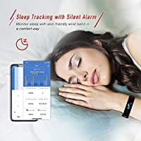 BOZLUN Fitness Tracker, Heart Rate Monitor Activity Tracker, Calorie Counter with Colorful UI, Sleep Monitor, Pedometer with Call SMS SNS Notice for ...