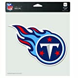 NFL Tennessee Titans 8-by-8 Inch Diecut Colored Decal