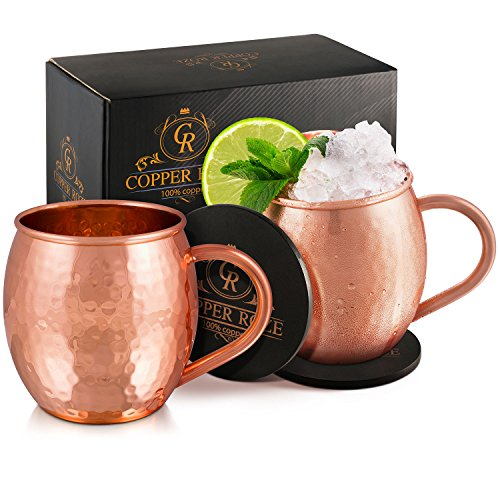 Copper Roze Hammered Unlined Coasters product image