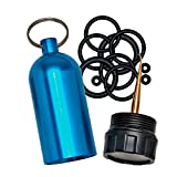 Innovative Scuba Concepts Diving Tank O-Ring Dive Kit Keychain with Pick, Blue