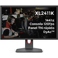 BenQ ZOWIE XL2411K Monitor de juegos de 24 pulgadas 144Hz/1080P/PS5 y XBOX 120fps/Panel TN rápido/DyAc/Black eQualizer…
