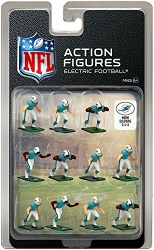 Miami Dolphins Home Jersey NFL Action Figure Set – Sports Center Store