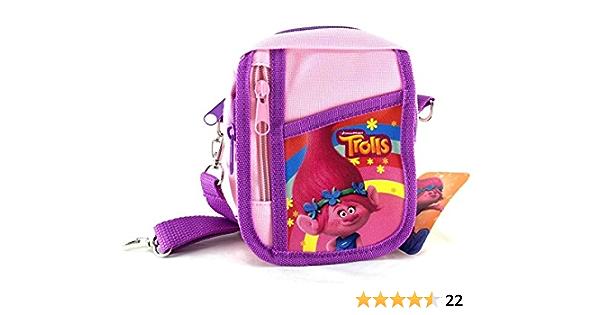 Trolls   Sporttasche   DreamWorks POPPY FLOWER Reisetasche  für Mädchen