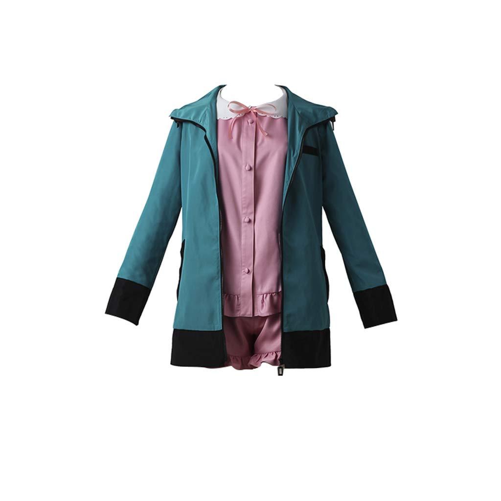 Eromanga Sensei Izumi Sagiri Cos Bikini Cosplay Costume Green Coat Pink Swimsuit