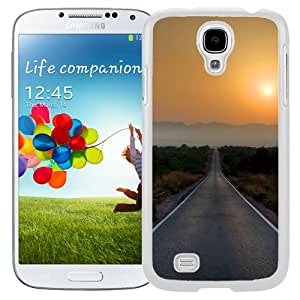 New Beautiful Custom Designed Cover Case For Samsung Galaxy S4 I9500 i337 M919 i545 r970 l720 With Road To Nowhere (2) Phone Case