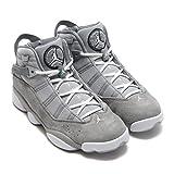 Jordan 6 RINGS mens fashion-sneakers 322992-014_12 - Matte Silver/White-cool Grey