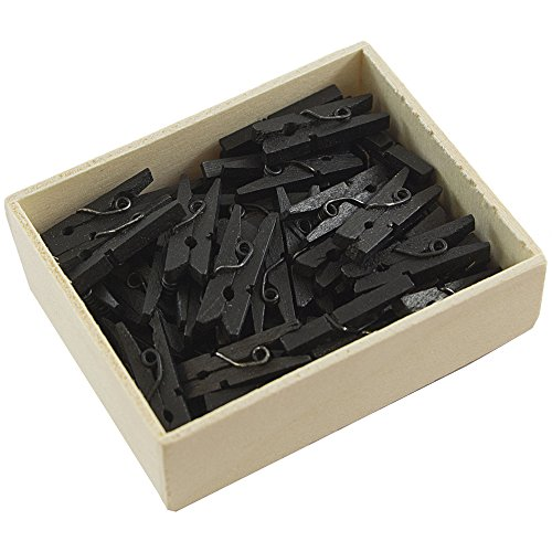 JAM Paper Wood Clothing Clips product image