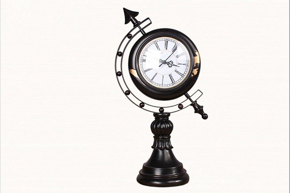 GDXRB 2018新しい創造的な樹脂のLEDアラームミュート発光電子時計デジタル時計の子供現代かわいい学生時計。ソリッドウッドの家具デコレーション デスククロック、スマートクロック+デジタルナイトライト+音楽目覚まし時計 (Color : Black style) B07CW17PVWBlack style