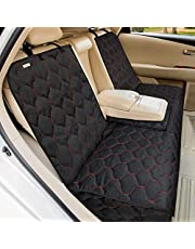 Babyltrl Dog Car Seat Cover Waterproof Pet Bench Seat Cover Nonslip and Heavy Duty Pet Car Seat Cover for Dogs and Armrest Fits Cars, Trucks and SUVs