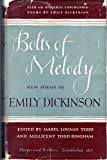 img - for Bolts of Melody: New Poems of Emily Dickinson book / textbook / text book