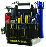 Mobile-Shop MS-CTB Grab and Go Pre-Loaded Complete Tool Bag, Black