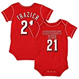 Outerstuff Todd Frazier MLB Cincinnati Reds Player Jersey One Piece Creeper Newborn 3M-18M