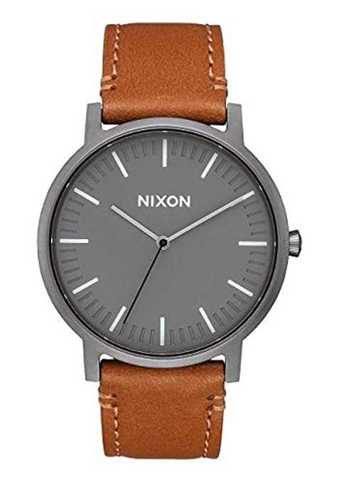 Nixon – Reloj analógico de Cuarzo para Hombre con Correa de Piel a10582494 – 00