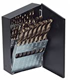 Irwin Industrial Tools 73138 TurboMax Fractional Metal Index Straight Shank Drill Bit Set, 29-Piece
