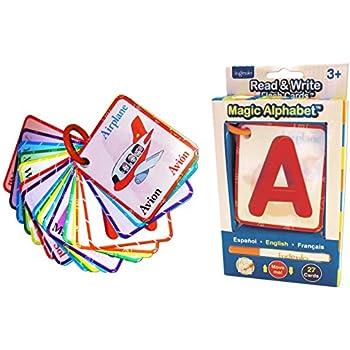 Amazon.com: El alfabeto Flash Cards: Alphabet: Brighter