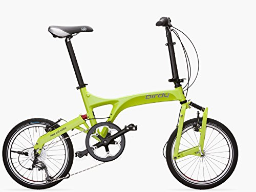 Pacific Cycles Birdy Folding Bicycle Standard 9 Speeds Lime