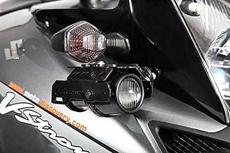 Faros antiniebla Hella con soportes Suzuki V-Strom DL650/1000: Amazon.es: Coche y moto