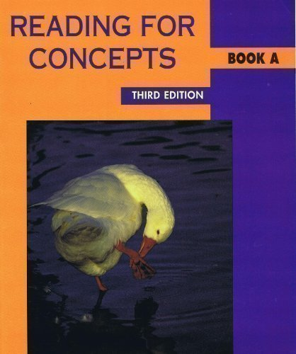Reading for Concepts: Book A