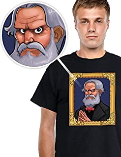 Digital Dudz Wahnsinniges Auge T-Shirt