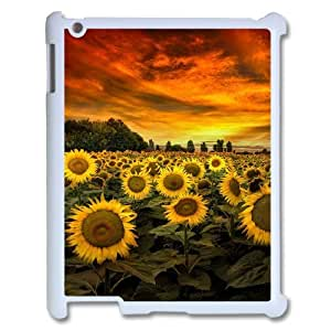 Chaap And High Quality Phone Case For Ipad 2/3/4 Case -Sunflowers Art Pattern-LiShuangD Store Case 12
