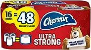 Charmin Ultra Strong Toilet Paper, 16 Triple Roll Bath Tissue = 48 Regular Rolls
