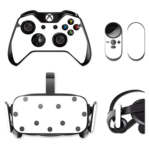 MightySkins Protective Vinyl Skin Decal for Oculus Rift CV1 wrap Cover Sticker Skins Solid White