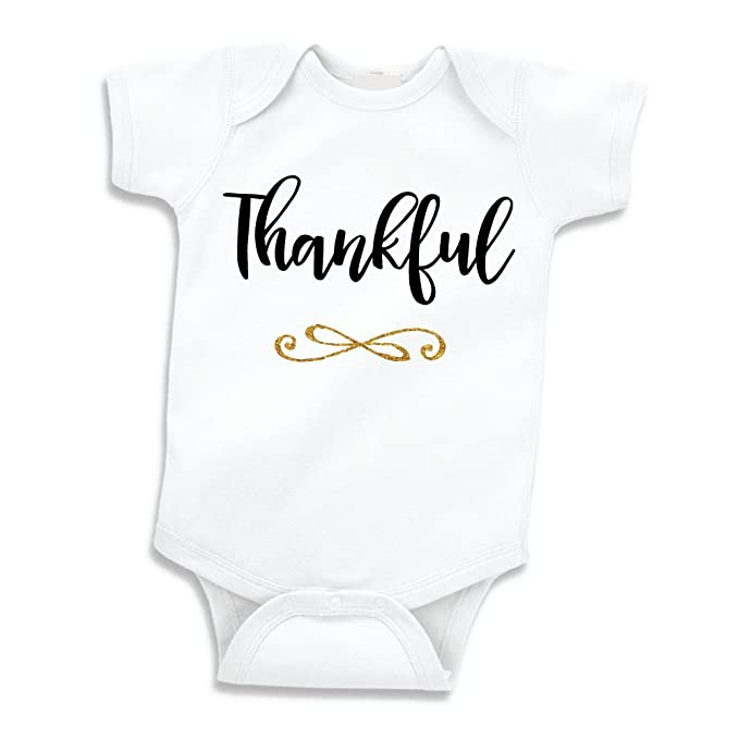Amazon Com Thanksgiving Outfit Baby Girls My First Thanksgiving