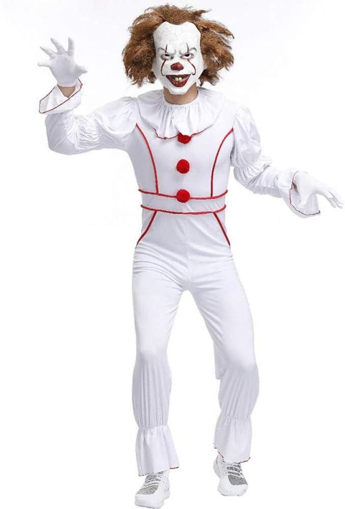 Ropa Payaso Disfraz Halloween Fantasma Muñeca Adulto Hombre ...