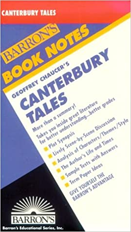 Canterbury Tales (Barron's Book Notes): Chaucer