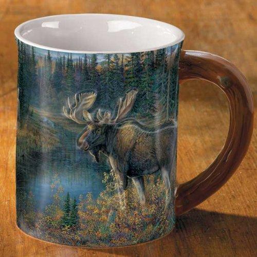 Da Bulls - Moose Sculpted Mug by Sam Timm -