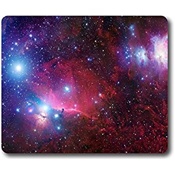 a44a484264acb Ice Rabbit Rectangle Mouse Pad Space Galaxy Nebula Non-Slip Gaming Thick  Rubber Mouse Mat