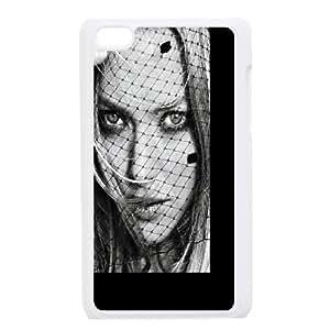 Celebrities Glamorous Amanda Seyfried iPod Touch 4 Case White DIY GIFT pp001_8160190