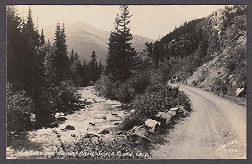 Silver Plume Co >> Loveland Pass Highway Above Silver Plume Co Rppc Postcard 1950s At