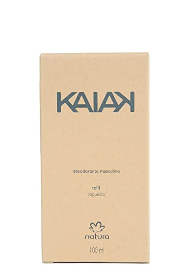 Amazon.com : Linha Kaiak Natura - Desodorante Spray Kaiak Masculino Refil 100 Ml - (Natura Kaiak Collection - Kaiak Spray Deodorant For Men Refill 3.38 Fl ...