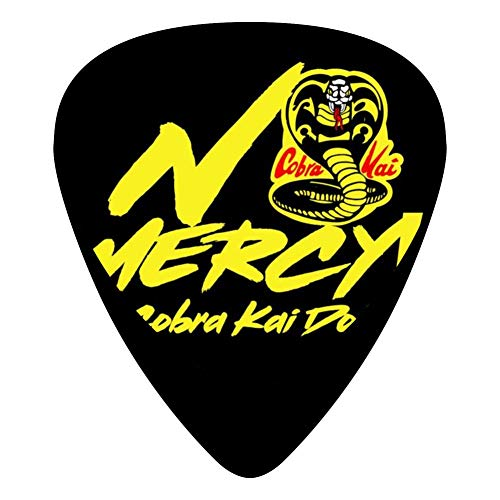Cora Musical Instrument - No Mercy 351 Shape Medium Classic Celluloid Picks, 12-Pack, For Electric Guitar, Acoustic Guitar, Mandolin, And Bass