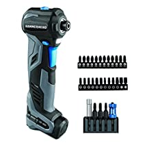 HAMMERHEAD HCID120-30 12V Compact Impact Driver/Auto Hammer with 30-pc Impact Bit Kit Combo