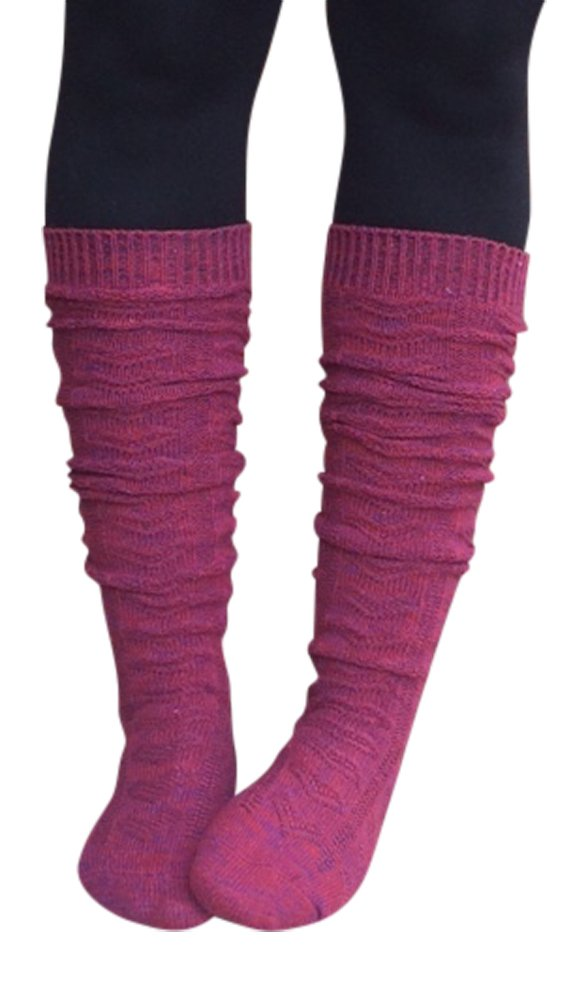 Lucky Love Womens Boot Socks, Knee High Multi-Color in Single & 2 Pack