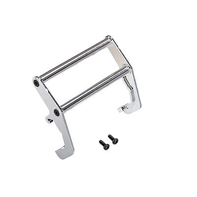 Traxxas TRA8138 Push Bar, Bumper, Chrome (Assembled) (Fits #8137 Bumper): Toys & Games