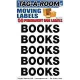 Tag-A-Room Box Content Moving Label (Books)