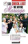 La check-list de votre mariage par Florence Le Bras