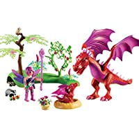 PLAYMOBIL® Friendly Dragon with Baby Playset, Multicolor
