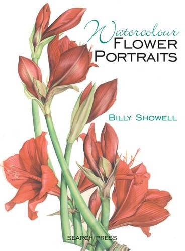 Watercolour Flower Portraits Billy Showell product image