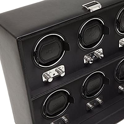 WOLF Heritage 6 Piece Watch Winder