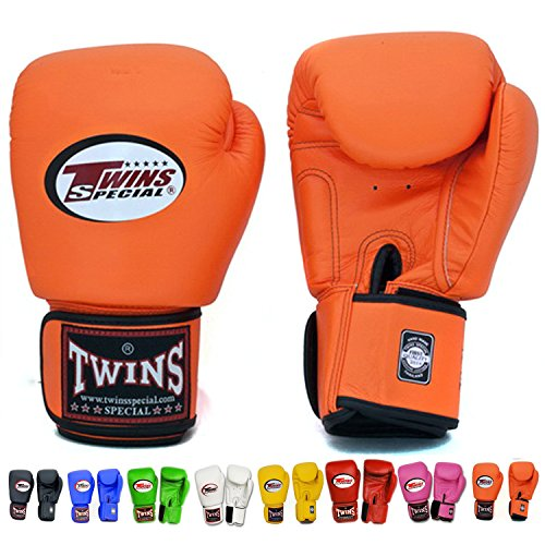 Twins Special Boxing Gloves 12oz (Black) - 5