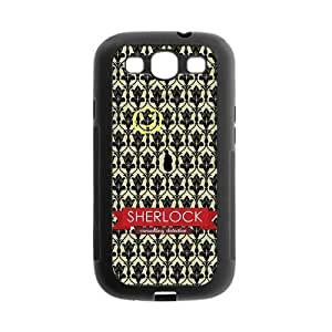 Danny Store Sherlock Protective TPU Gel Rubber Back Fits Cover Case for SamSung Galaxy S3