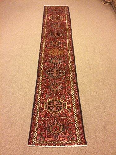 2.5x11.9 Feet Narrow Rug Runner Ethnic Rug Runner Vintage Aisle Rug Corridor Rug Hallway Carpet.Code:P621