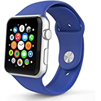 Smart Watch Band, YaSpark Soft Silicone Replacement Sports Band for 42mm & 38mm Smart Watch 2015 & 2016 All Models