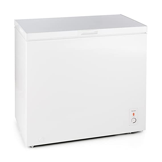 Klarstein Iceblokk congelador horizontal (200 litros capacidad ...